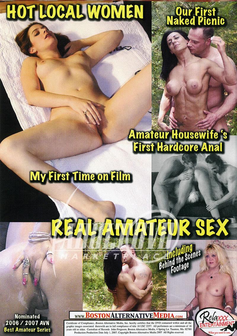 naked amateur dvd