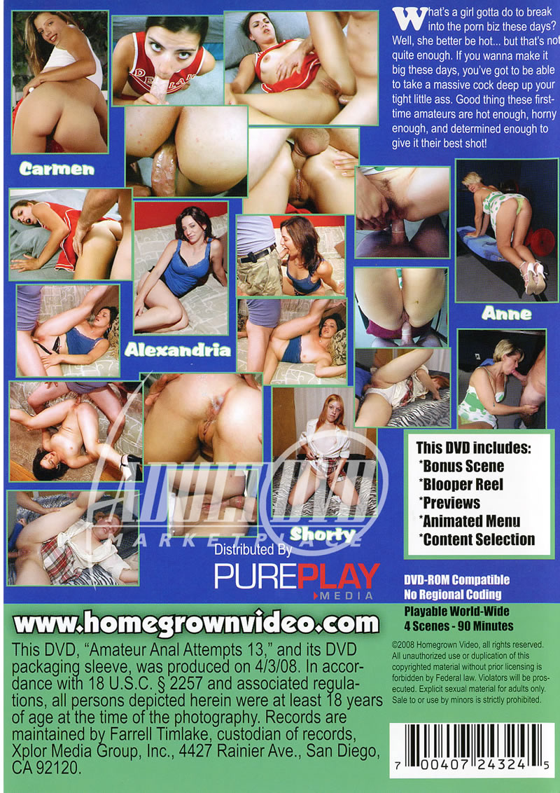 Amateur anal attempts adict nude download