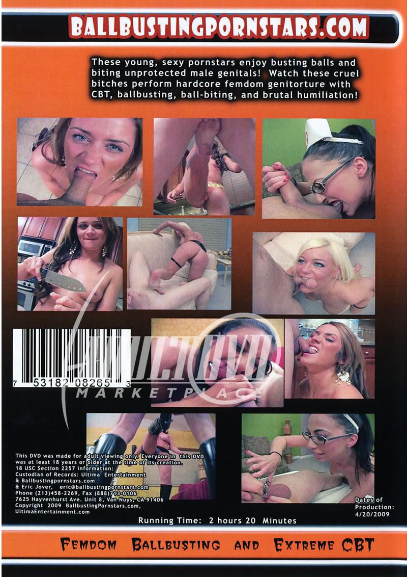 Ballbusting Bitches cockbiting femdom castration 2