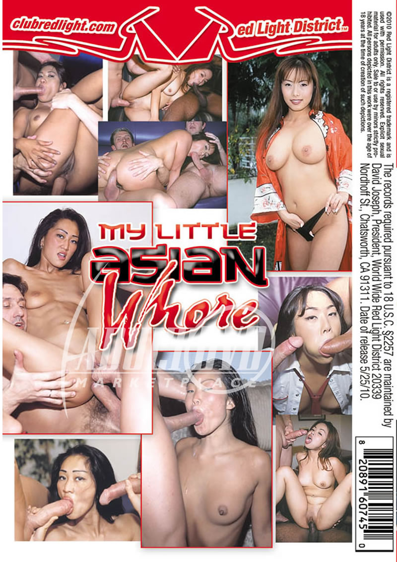 my little asian whore - dvd - red light district