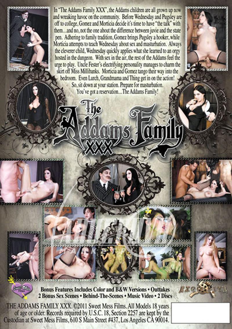 Addams Family Porn Parody