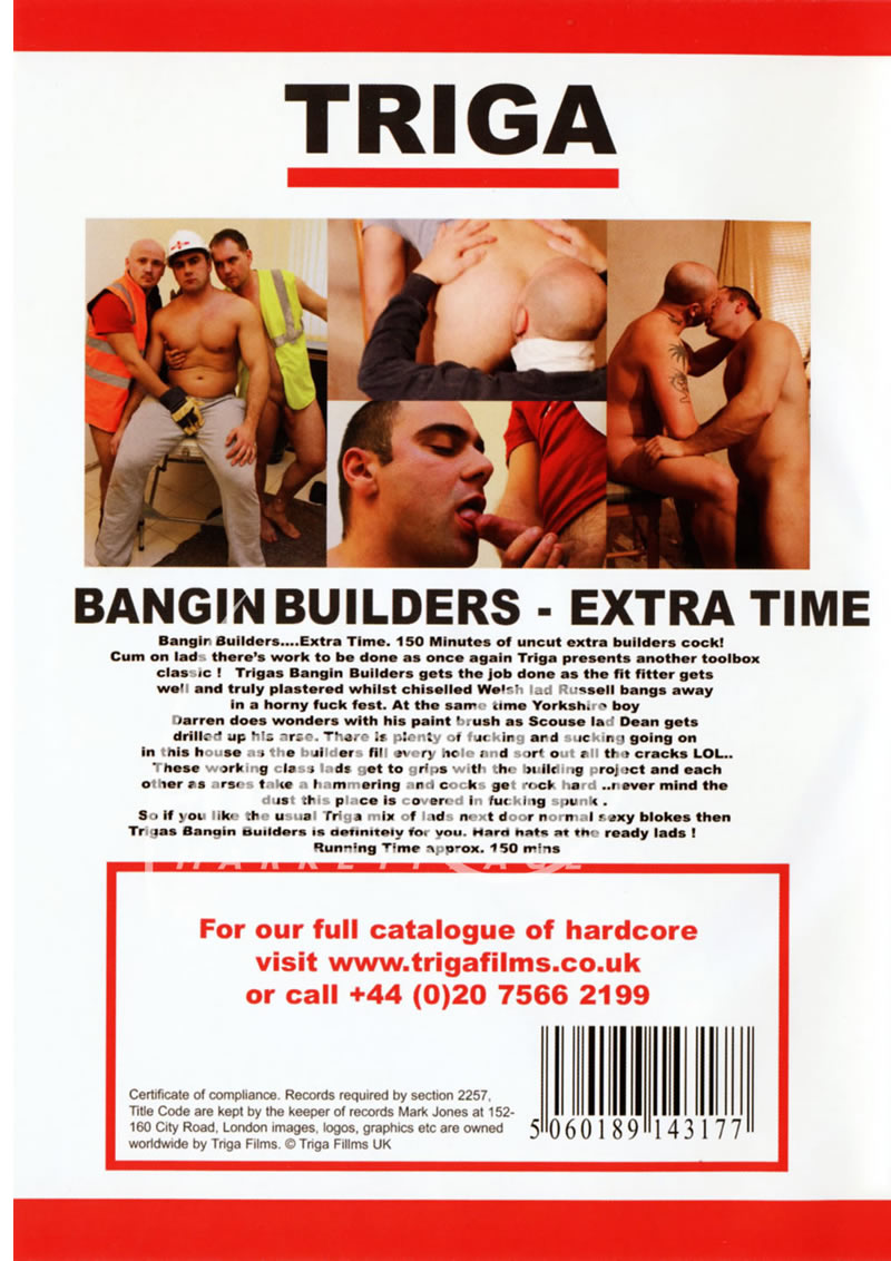 Bangin Builders Extra Time Cover Back