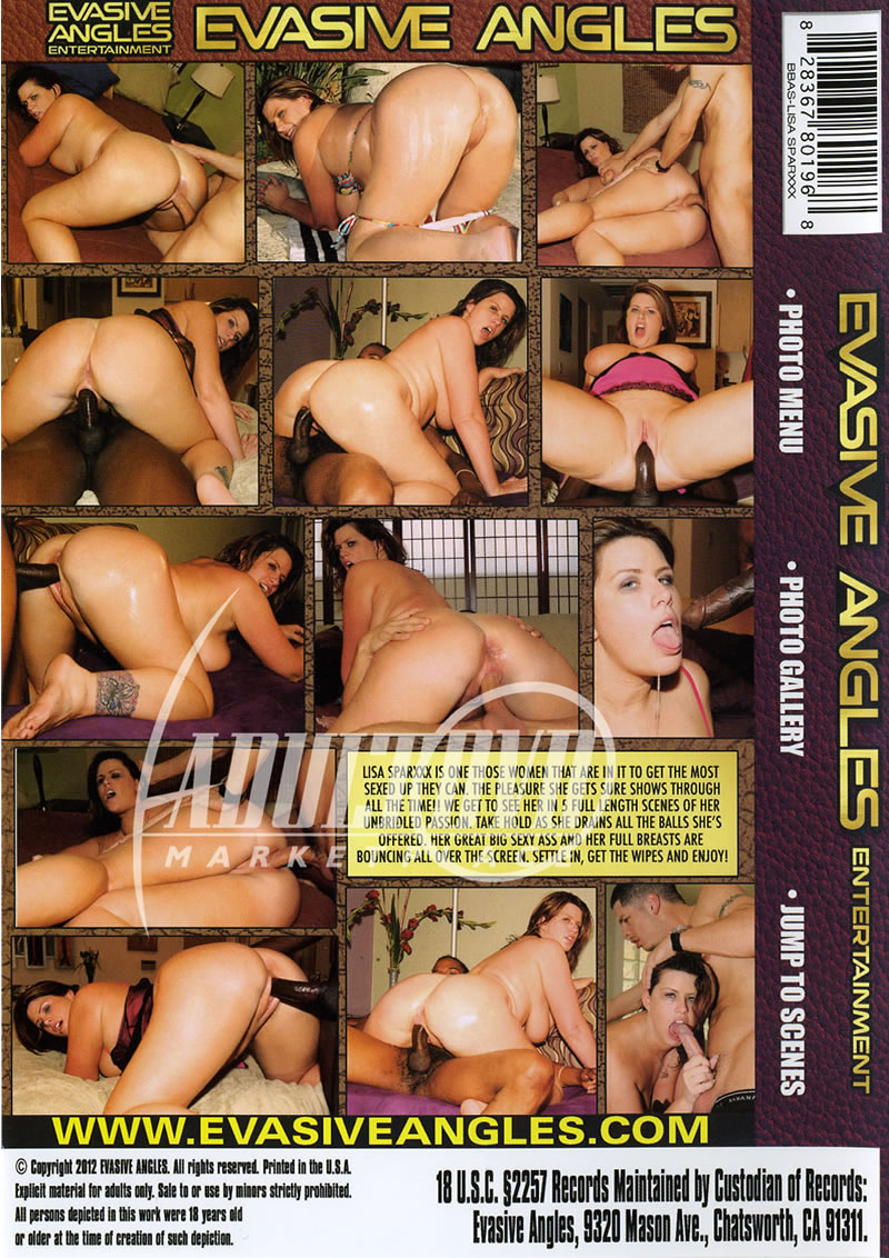 big butt all stars: lisa sparxxx - dvd - evasive angles