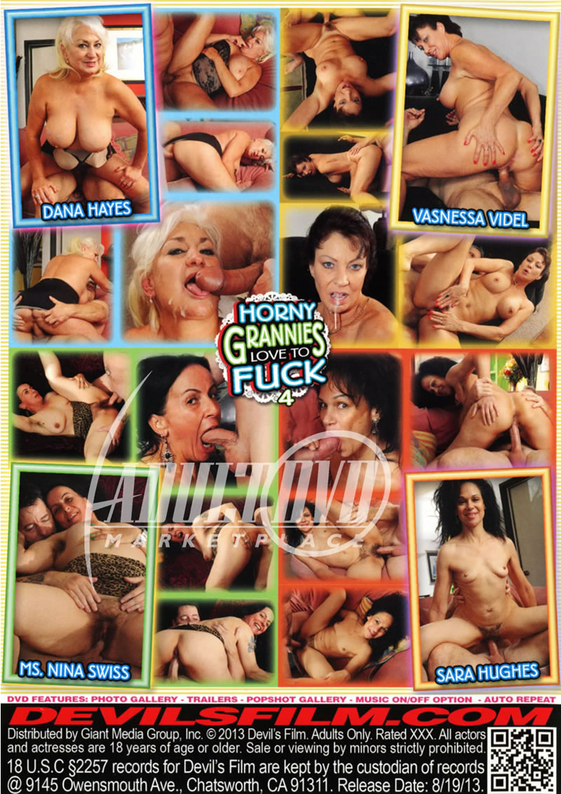 Grannies i like to fuck dvd