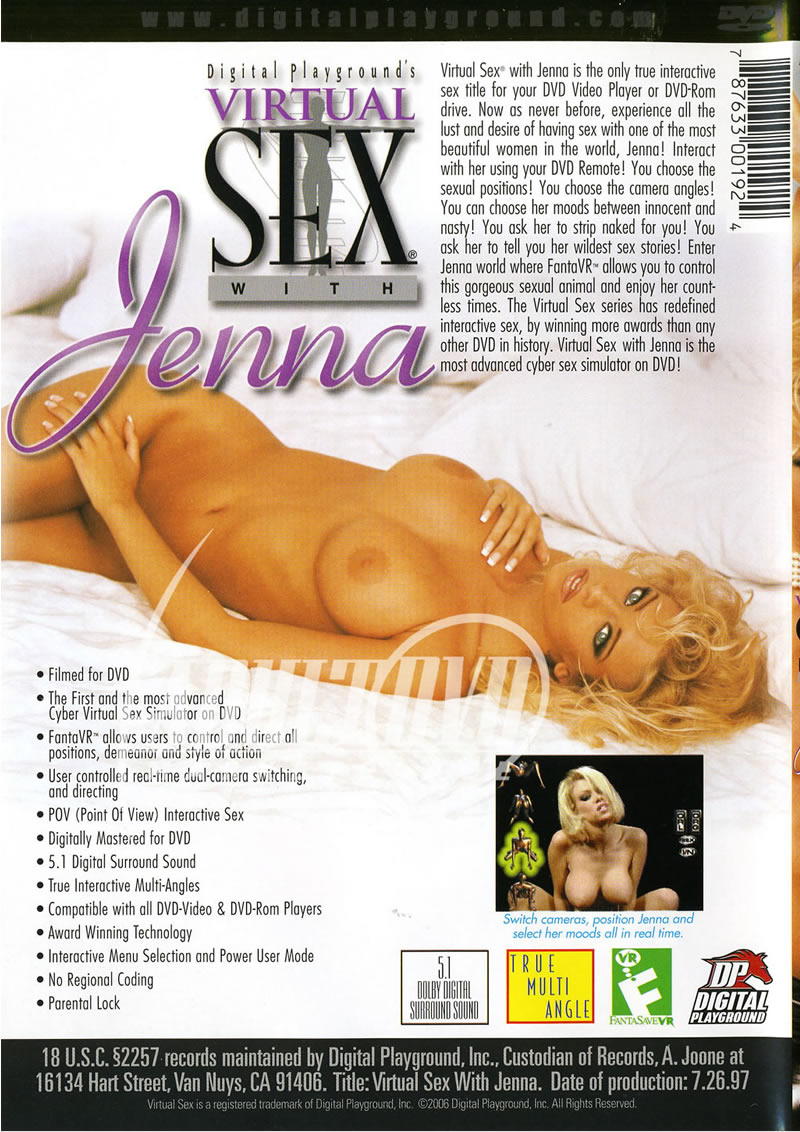 Pics from virtual sex with jenna dvd