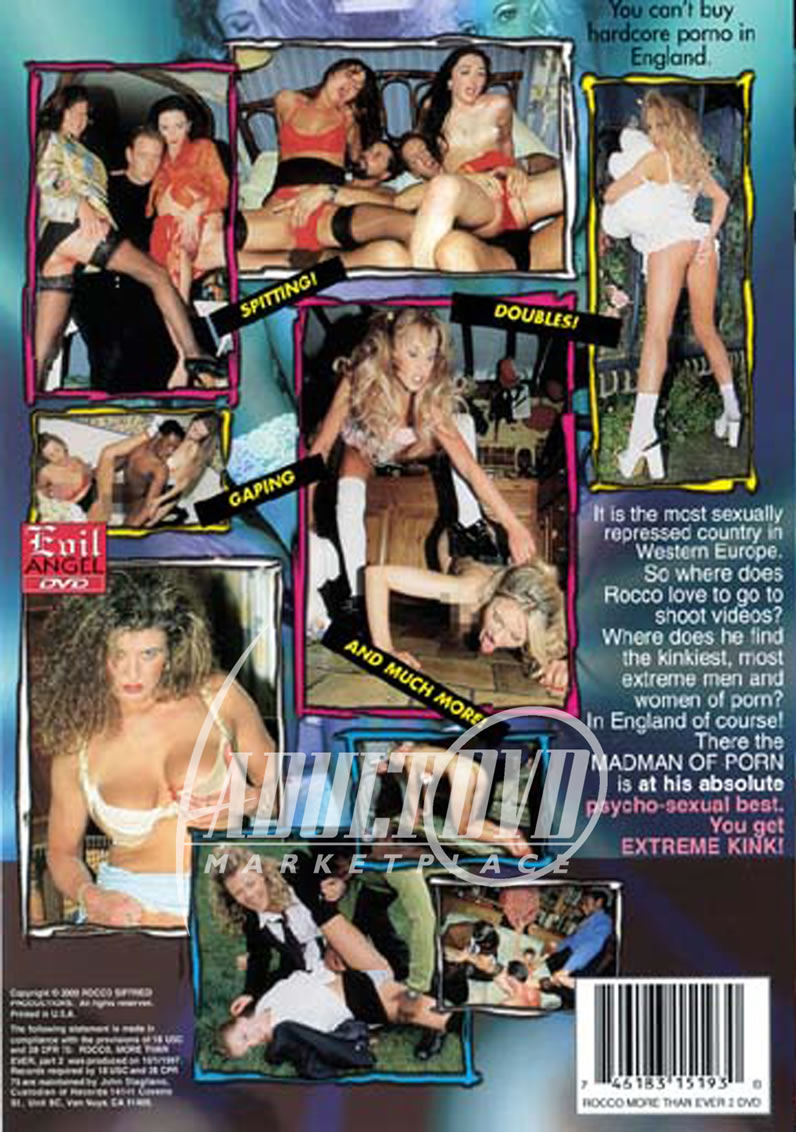 rocco more than ever 2 - dvd - evil angel