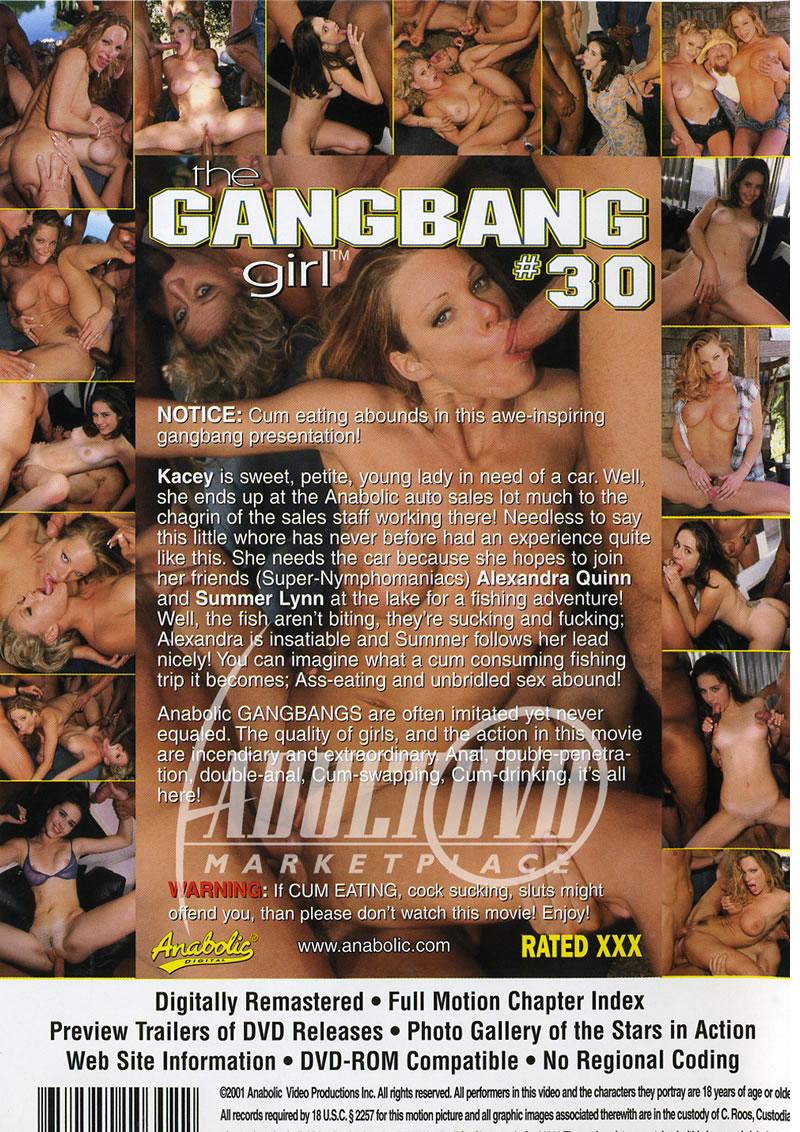 Gang bang girl dvd
