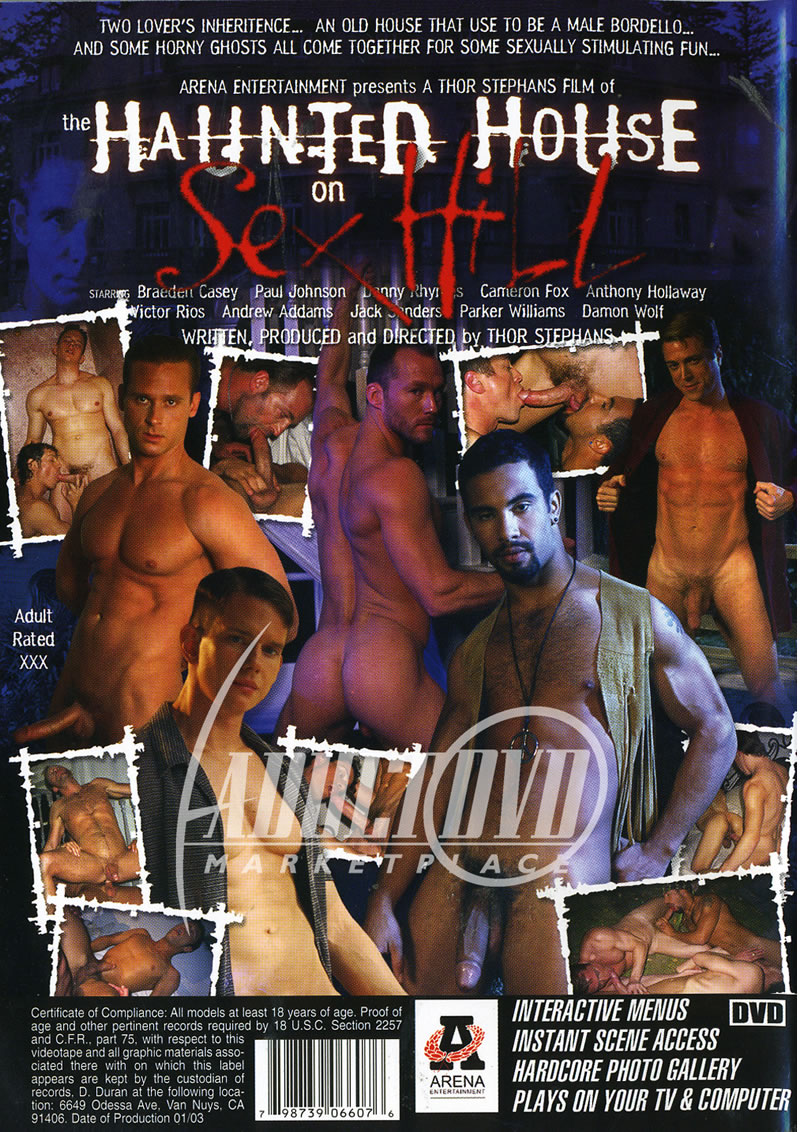 The Haunted House on Sex Hill Cover Back