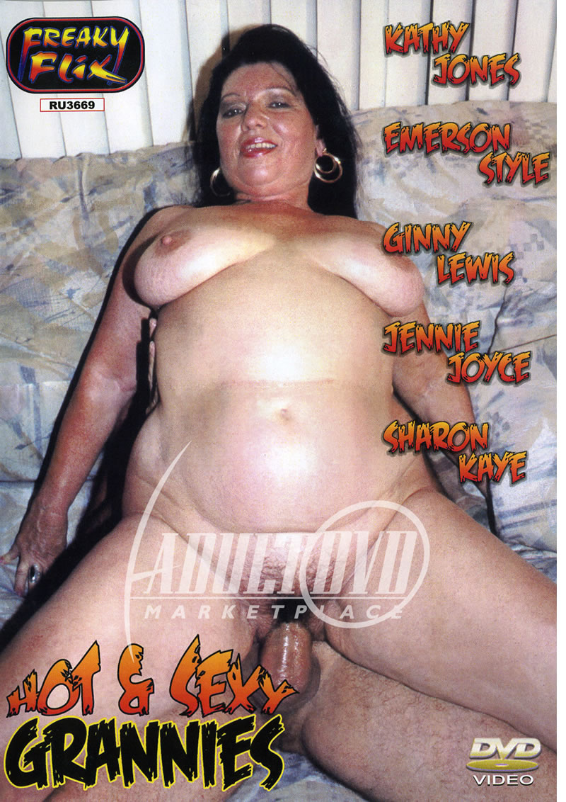 hot & sexy grannies - dvd - freaky flix