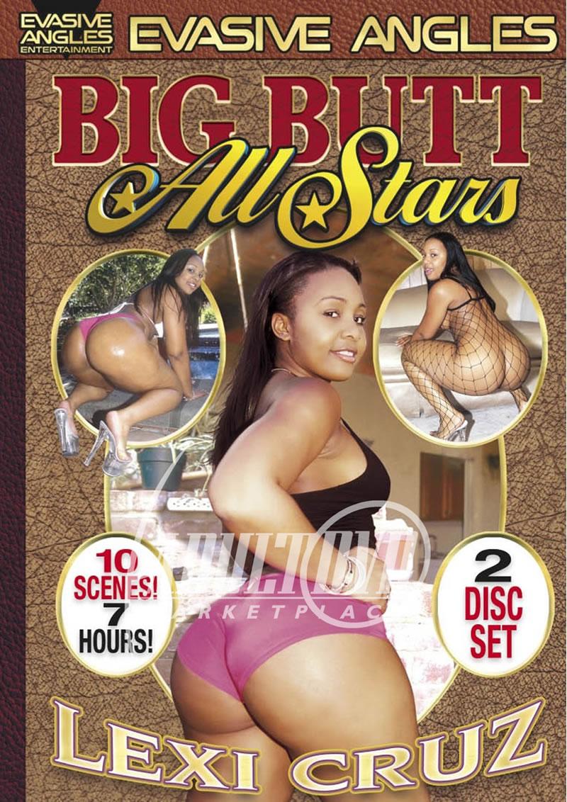 big butt all stars: lexi cruz - dvd - evasive angles