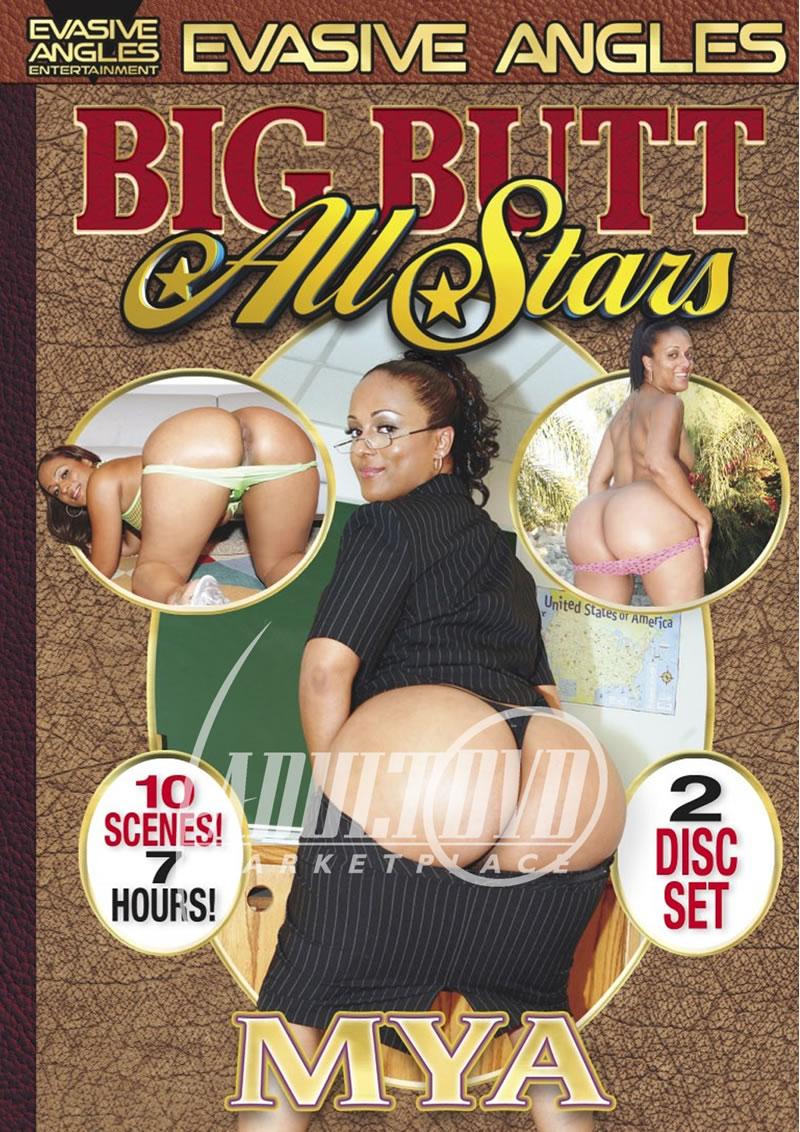 big butt all stars: mya - dvd - evasive angles