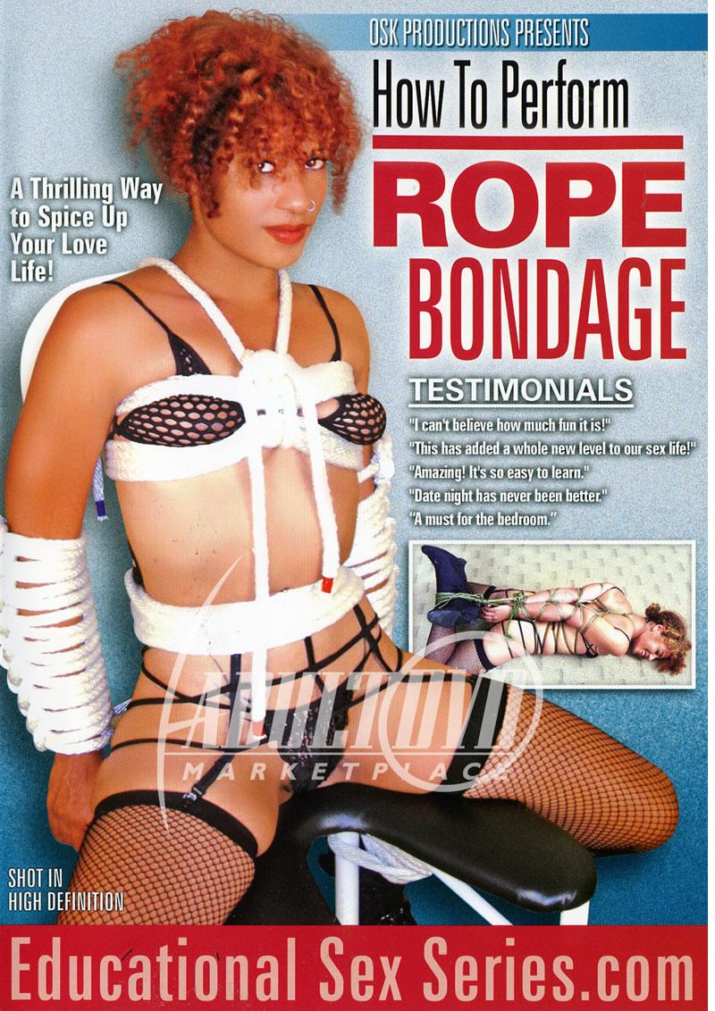 Rope bondage for sex instructional dvds