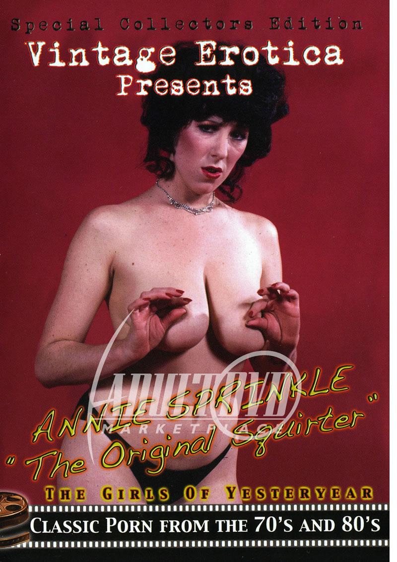 Anny Porn Vintage annie sprinkle: the original squirter