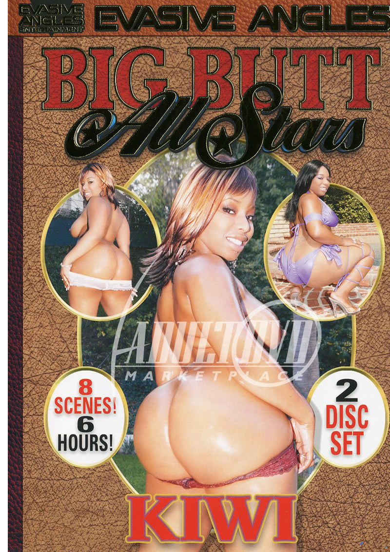 Big Butt All Stars Dvd