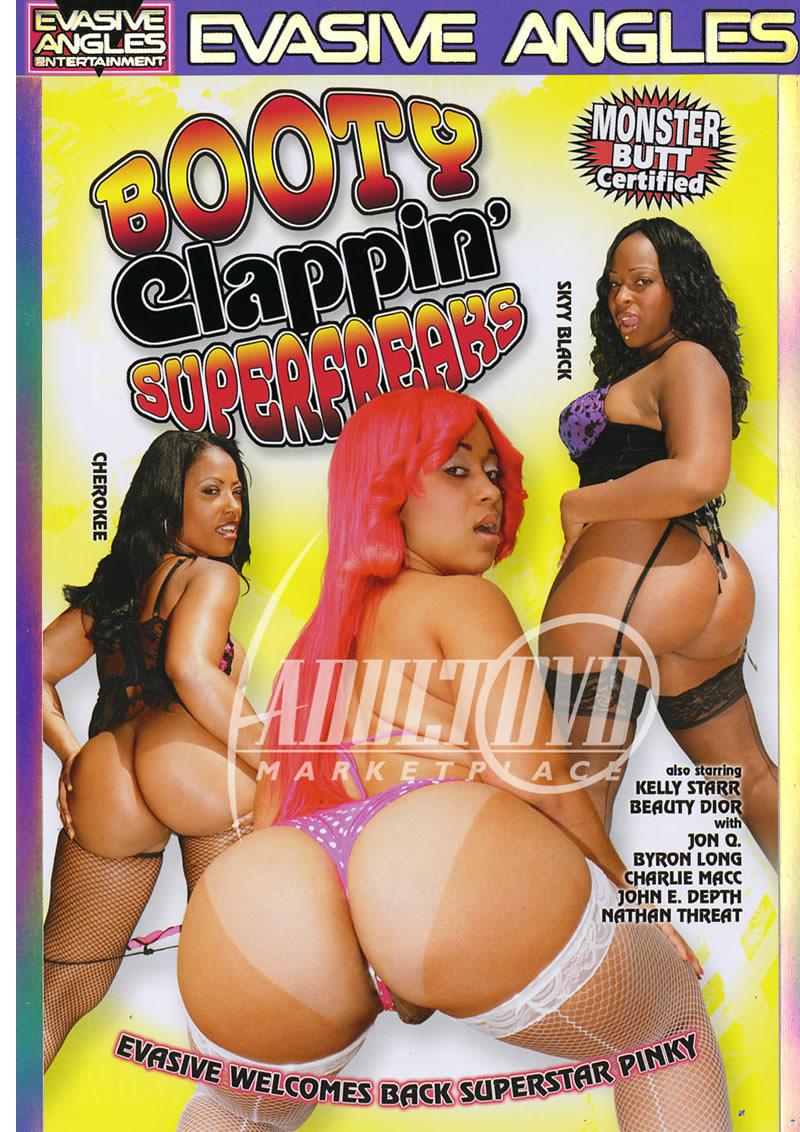 Big Booty Kelly Starr Cool booty clappin super freaks 1 - dvd - evasive angles