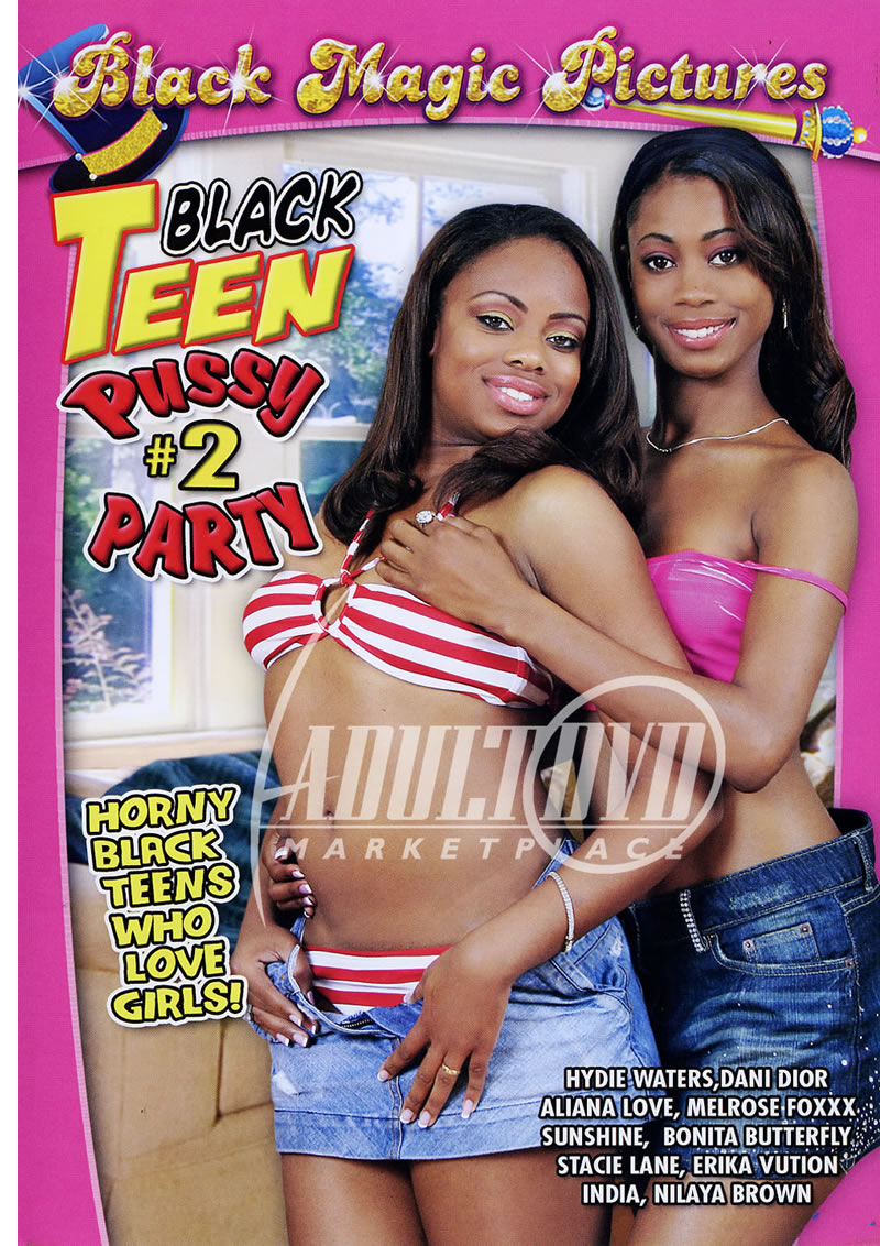black teen pussy party 2 - dvd - black cherry films