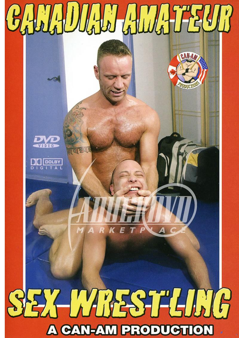 canadian amateur sex wrestling - dvd - can-am
