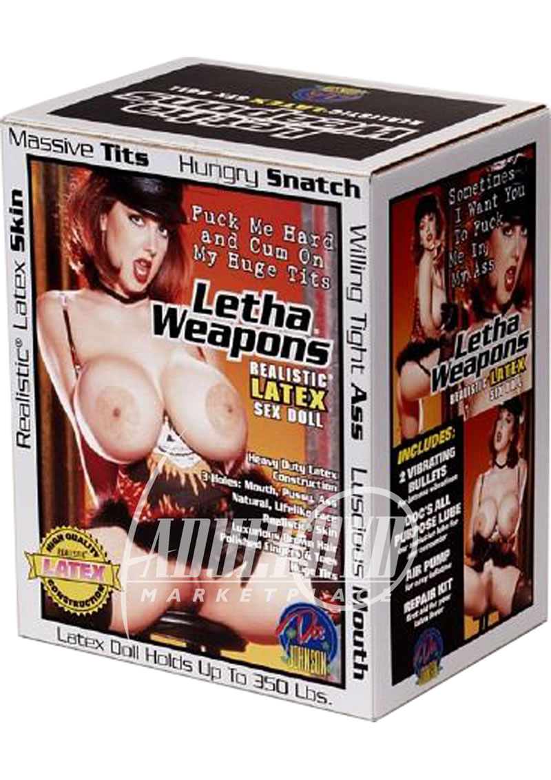 Letha weapons big boobs sex doll