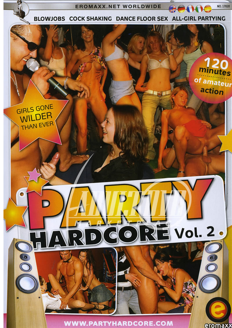 Hardcore sex party dvd 2008