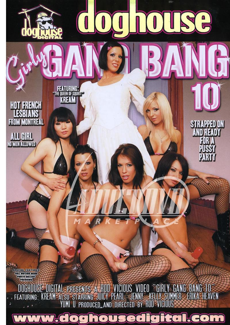 Girlly gang bang