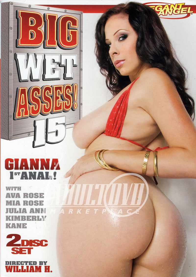 big wet asses 15 - dvd - elegant angel