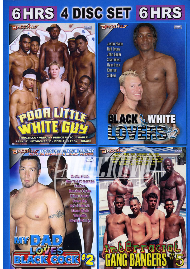 Interracial muscle fuckfest