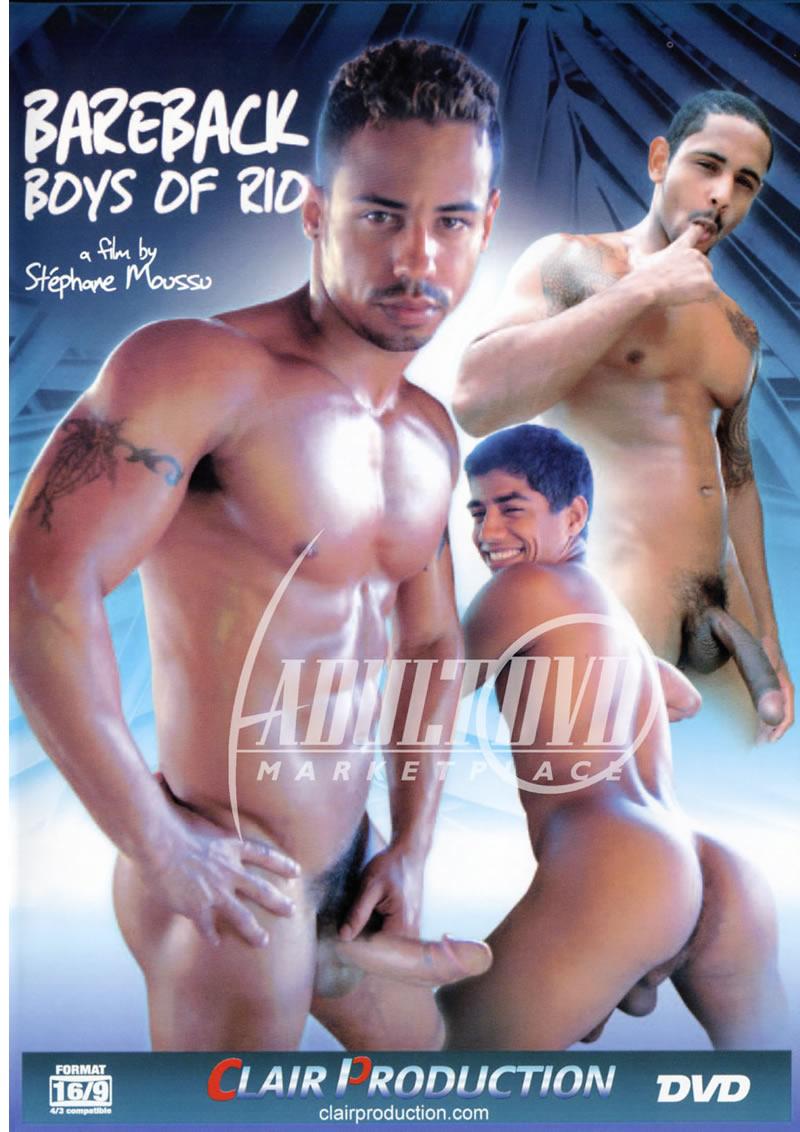 Bareback Boys Of Rio Cover Front