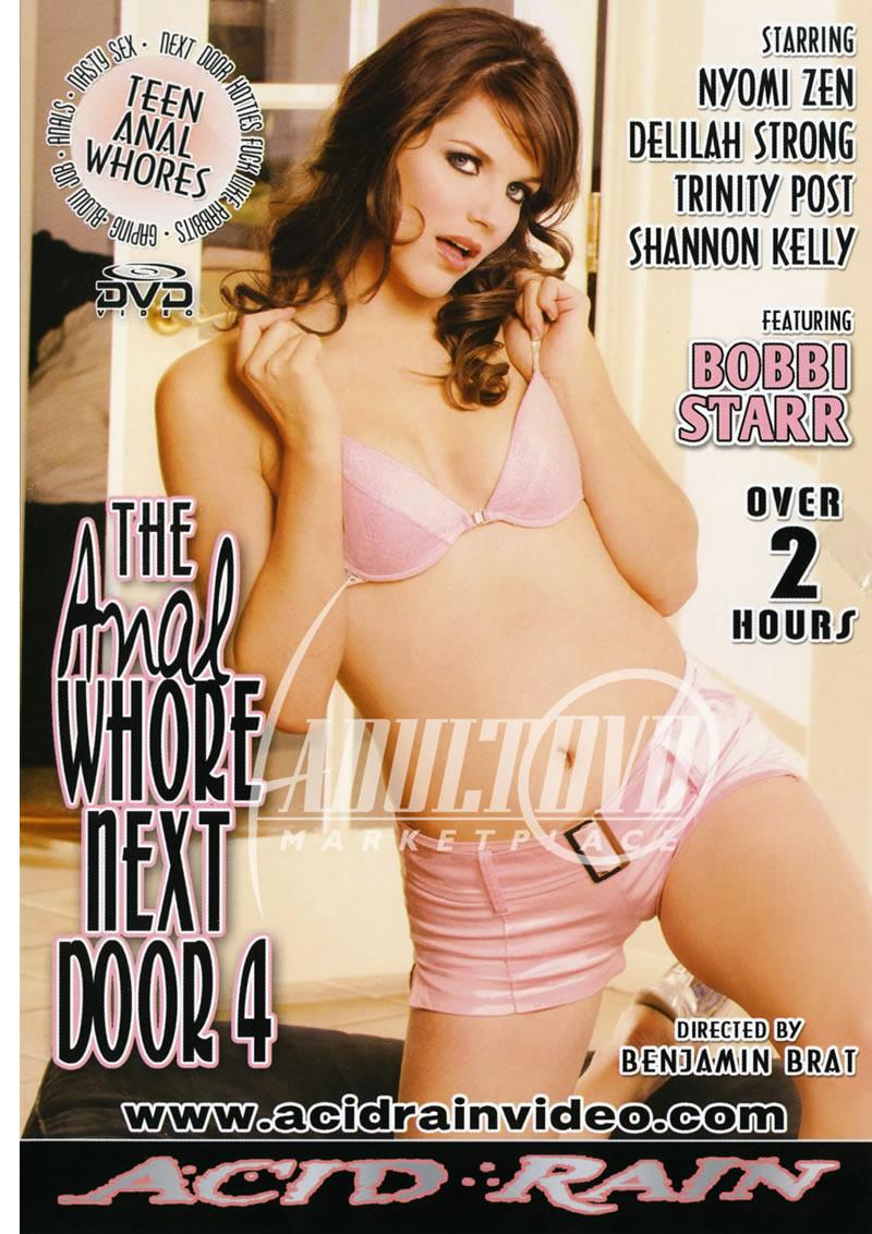 anal whore next door 4 - dvd - acid rain