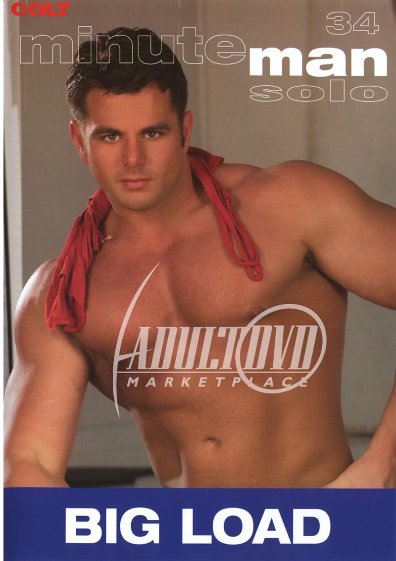 Solo Male Masturbation Adult DVD - XXX Barracuda MIDDLE