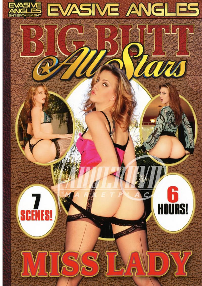 big butt all stars miss lady - dvd - evasive angles