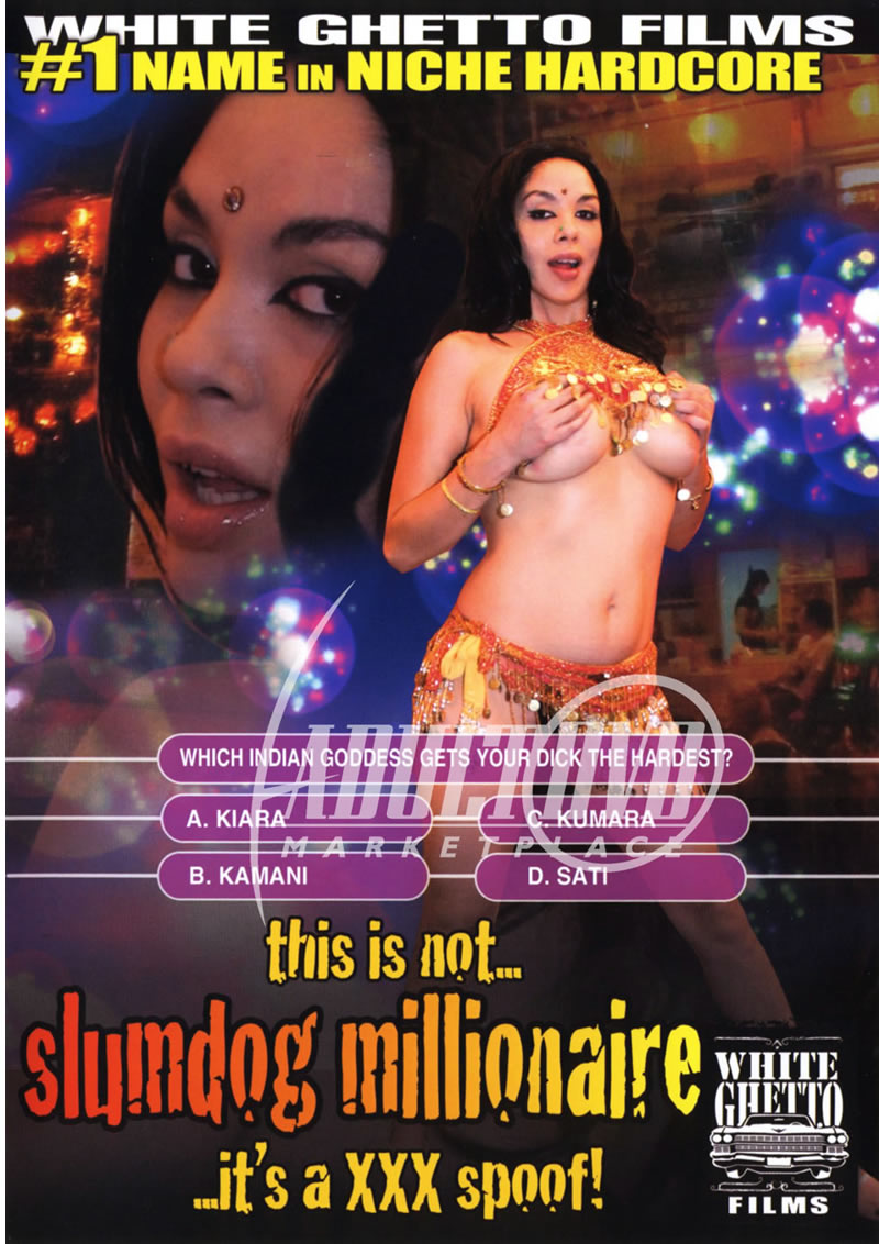 slimdog porn This Is Not Slumdog Millionaire... It's A XXX Spoof! - DVD - White Ghetto Films