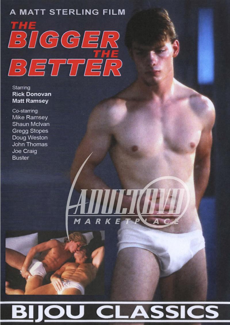 Rick Donovan Porn Star Top the bigger the better - dvd - bijou video