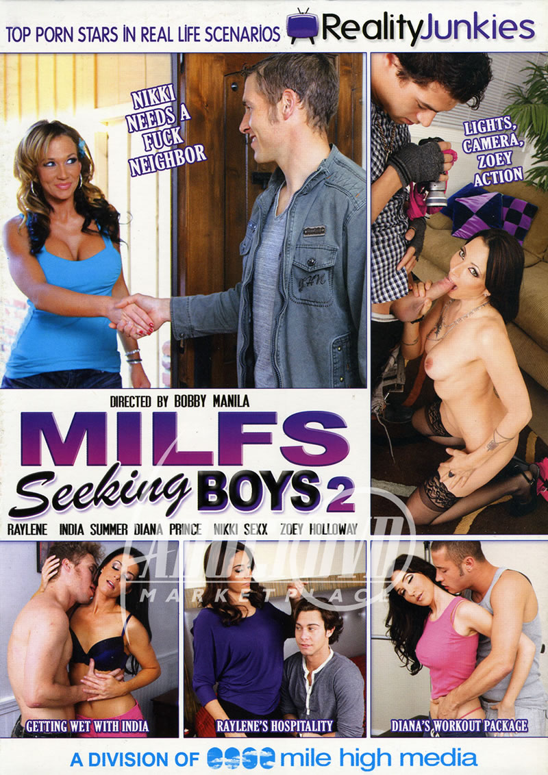Milfs with boys