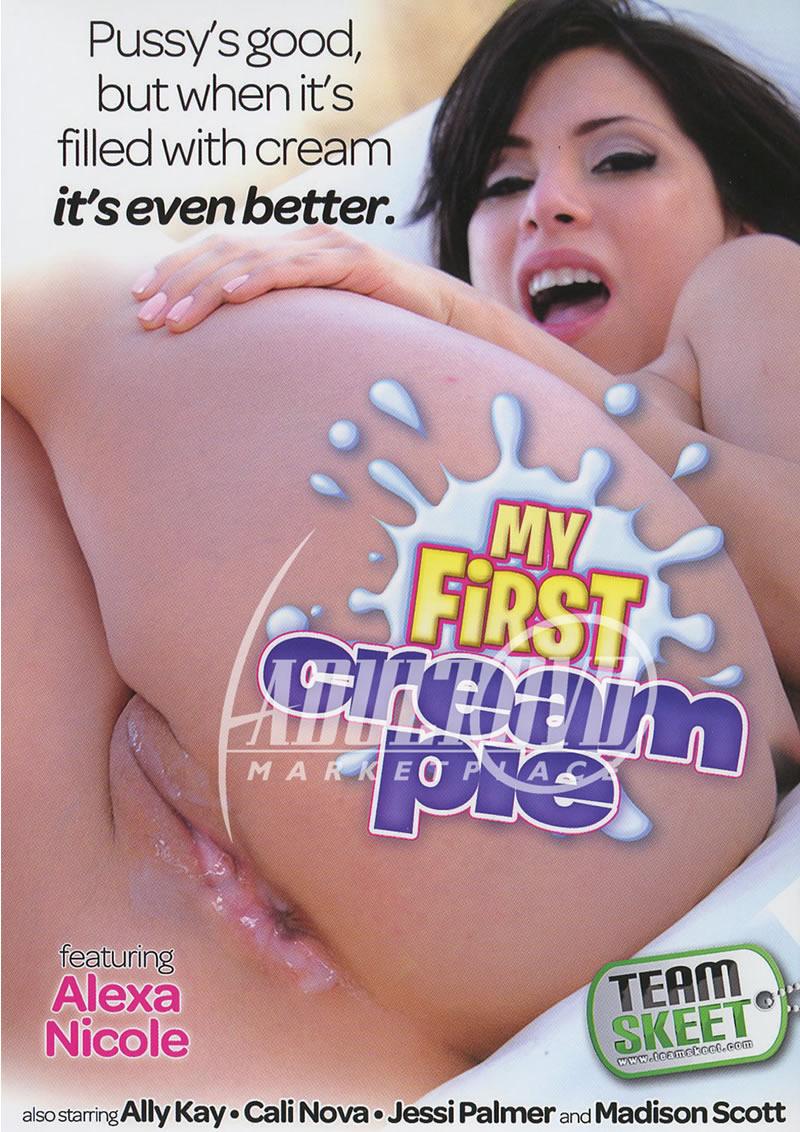 Madison Scott Cream Pie Cheap my first cream pie - dvd - team skeet