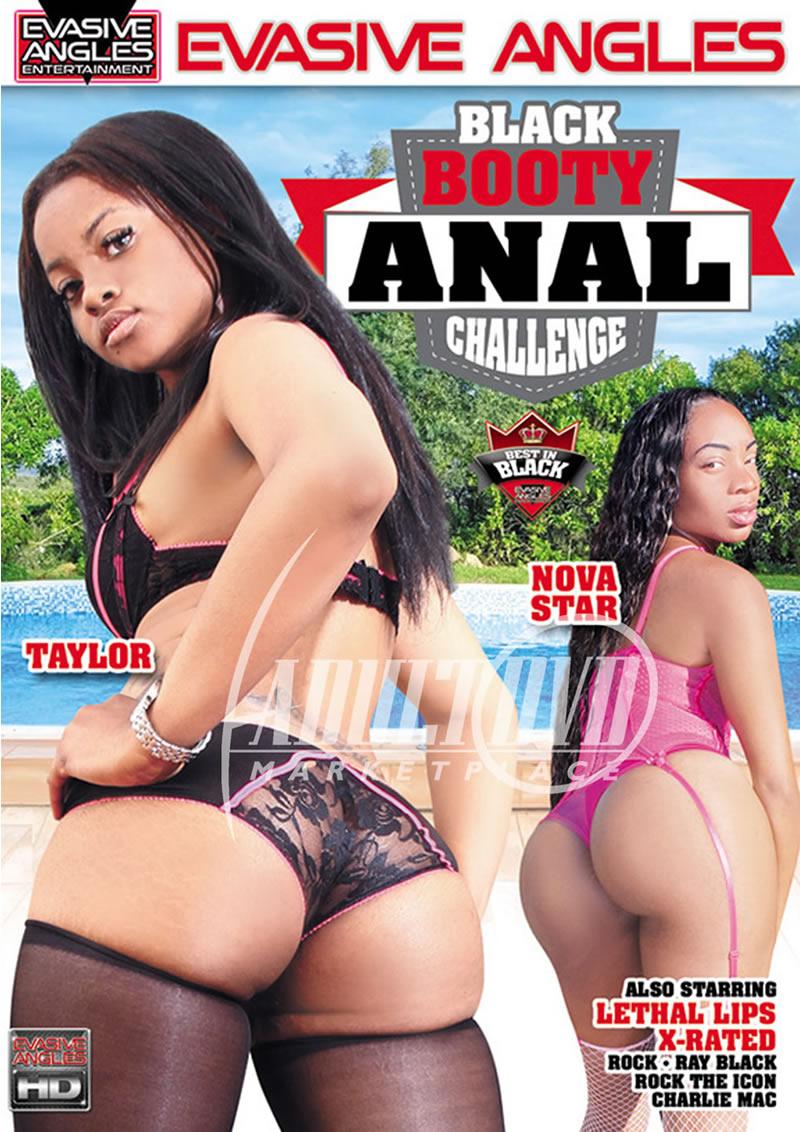 black booty anal challenge - dvd - evasive angles