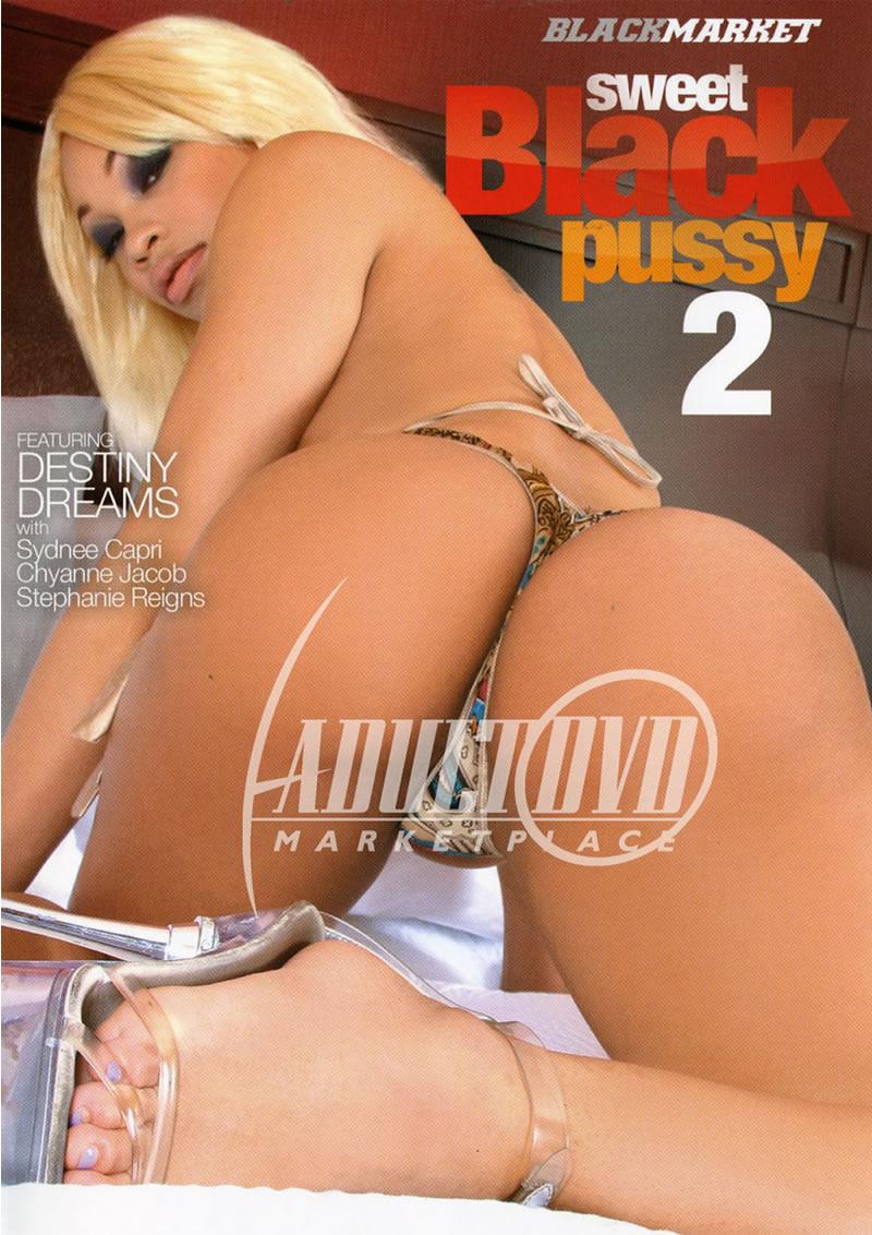 sweet black pussy 2 - dvd - black market