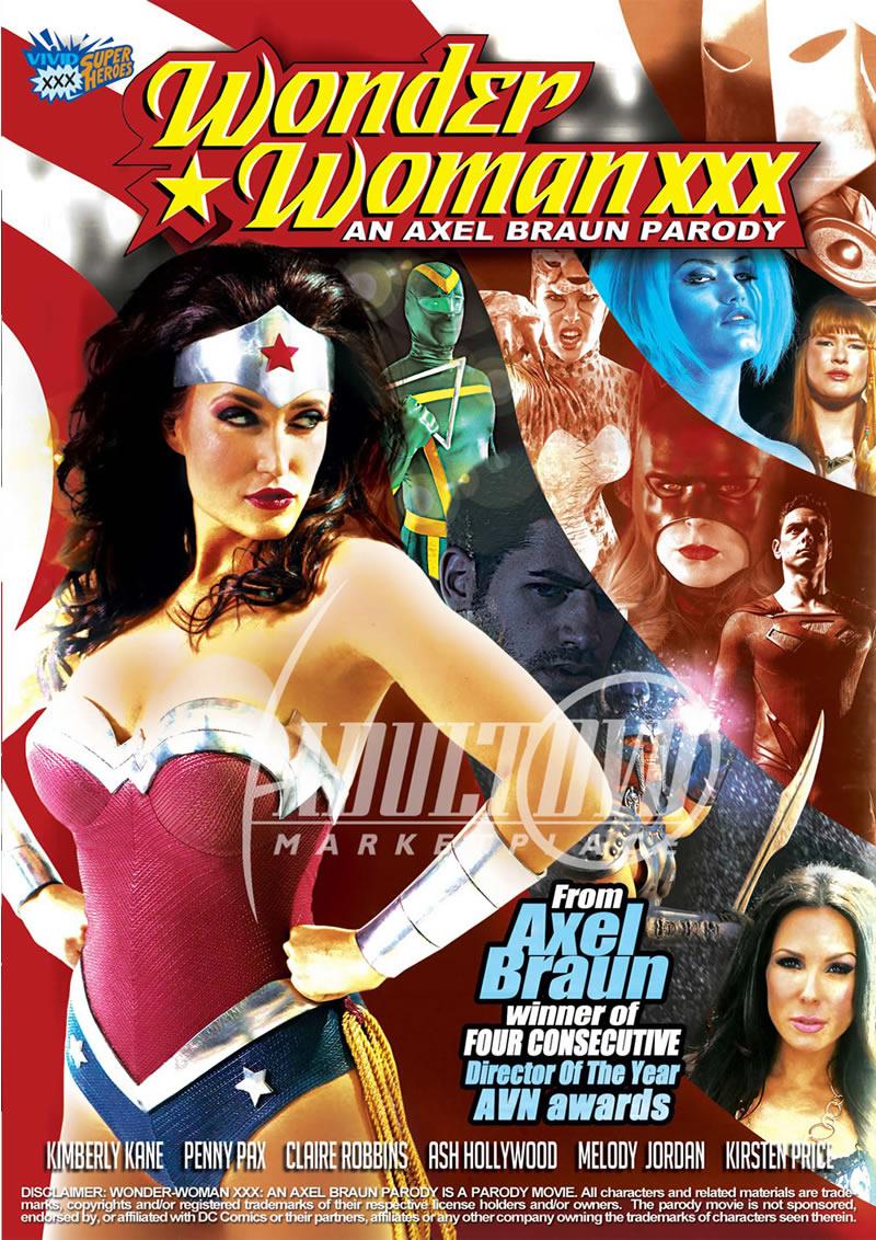 Wonder woman xxx dvd cover opinion