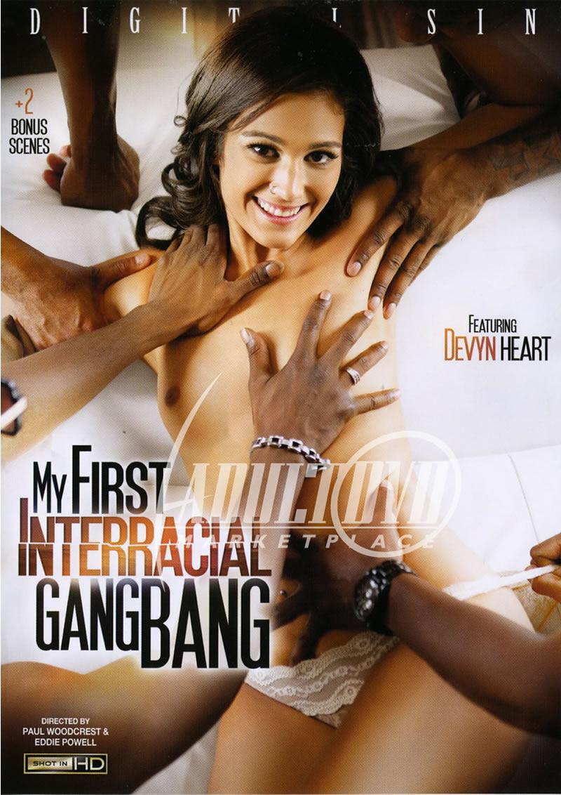 first interracial shoot
