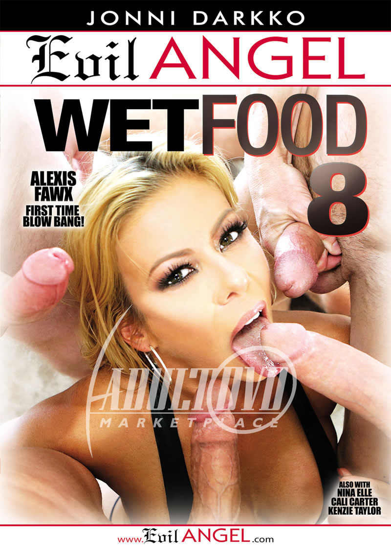 Alexis Fawx Wet Food Porn wet food 8