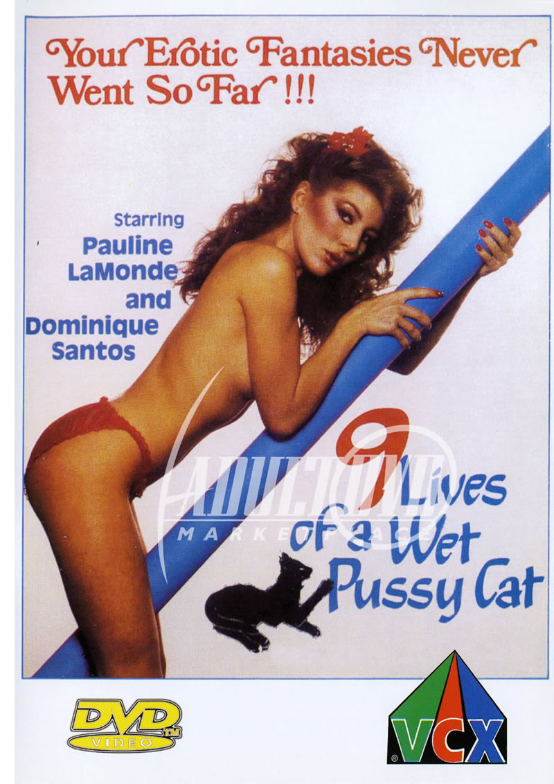 9 lives of a wet pussy cat - dvd - vcx