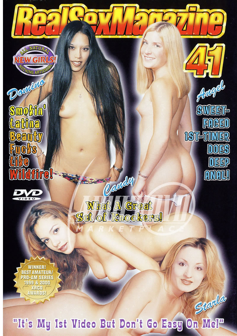 real sex magazine 41 - dvd - ww productions