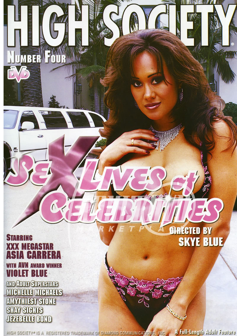 Asia Carrera Anime high society 4: sex lives of celebrities - dvd - bizarre