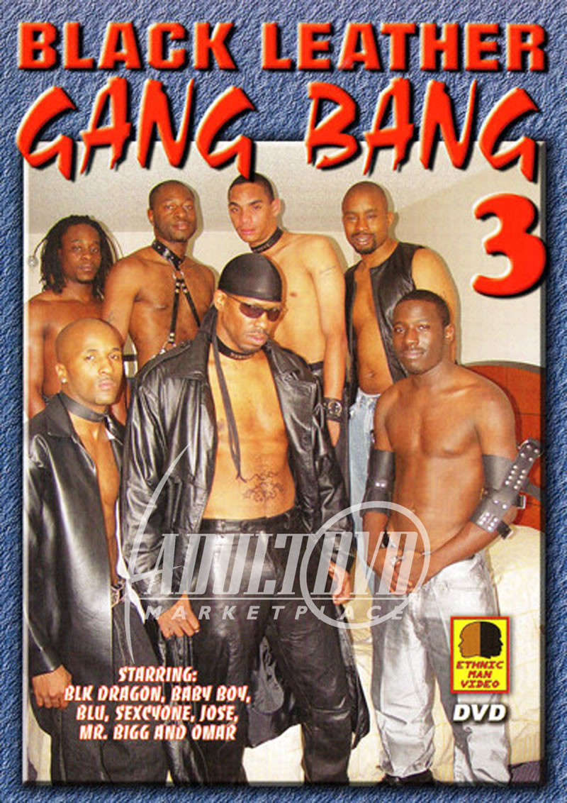 Gay Leather Gangbang