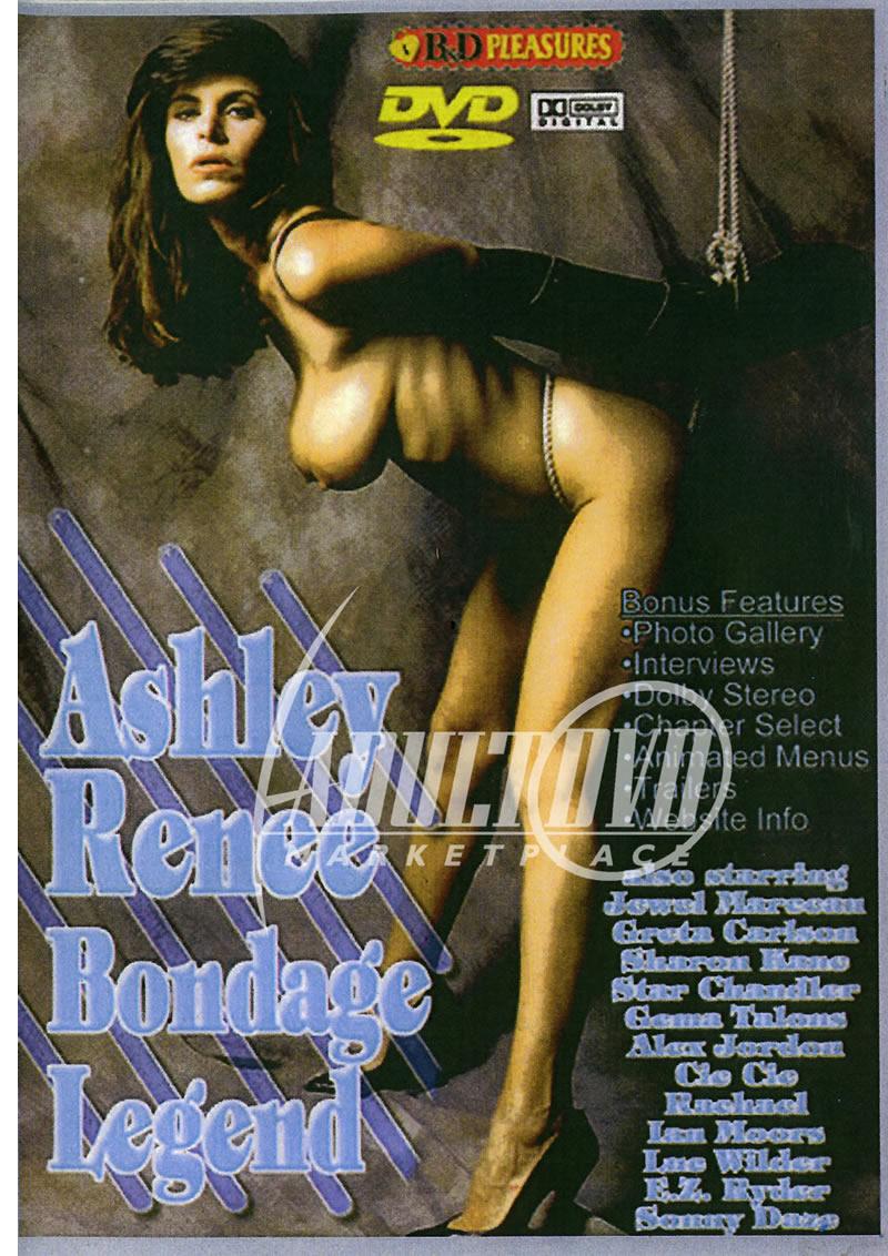 Ahley Renne Porn ashley renee bondage legend - dvd - b&d pleasures