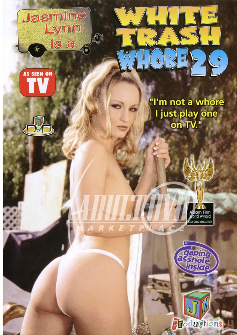white trash whore 29 - dvd - jm productions