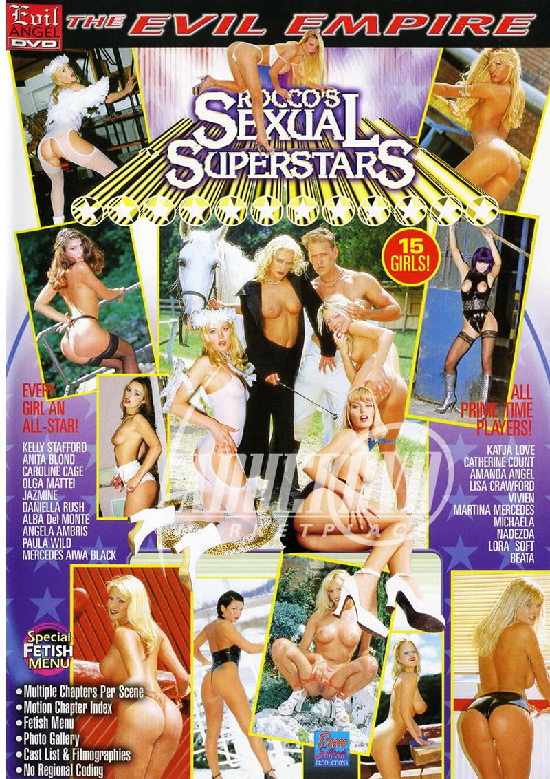 Alba Del Monte Porn rocco's sexual superstars - dvd - evil angel