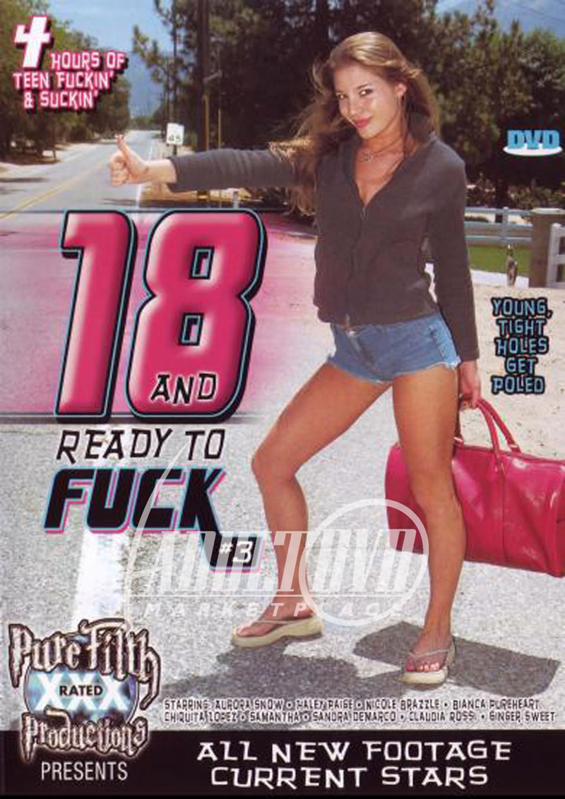 18 & ready to fuck 3 - dvd - pure filth
