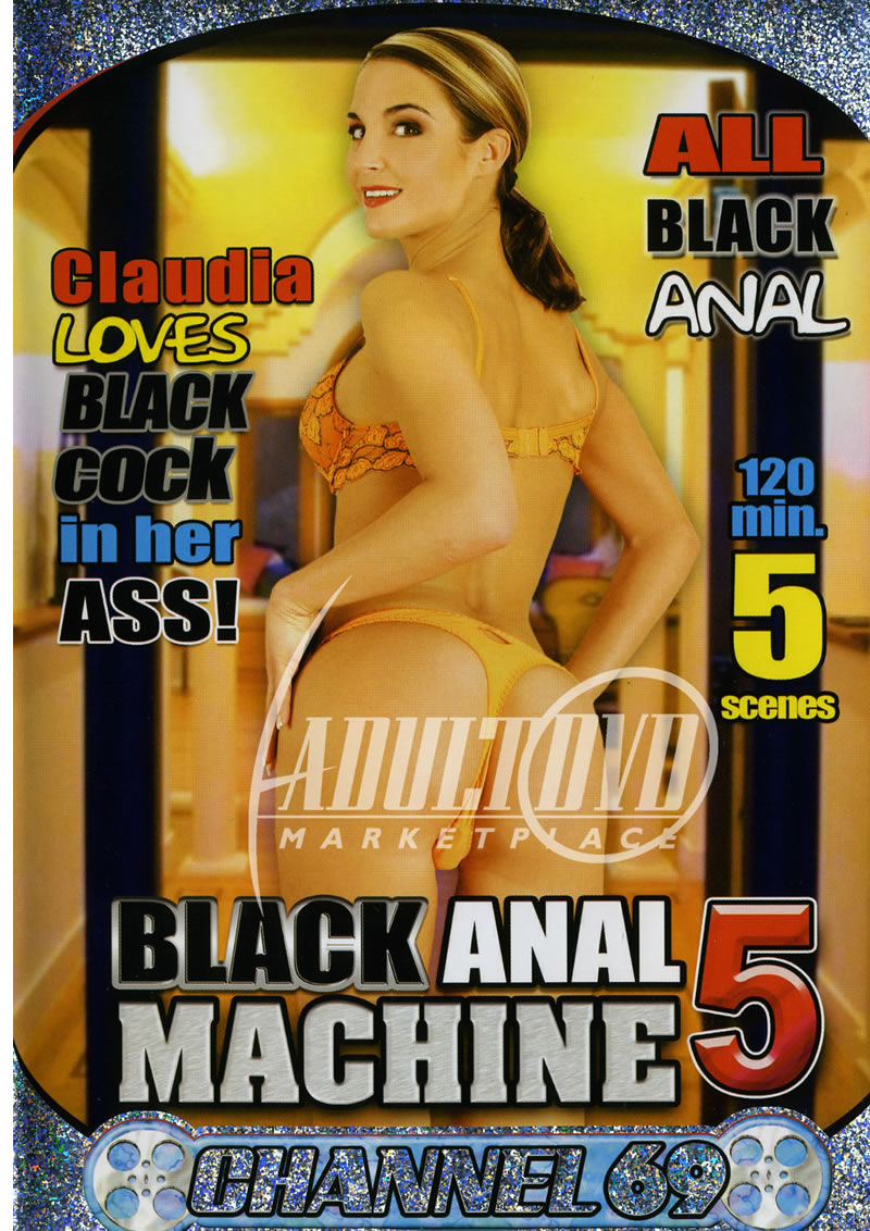 black anal machine 5 - dvd - channel 69