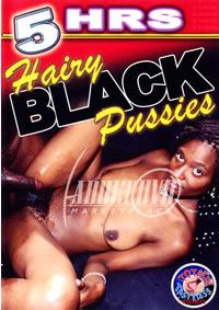 5hr Hairy Black Pussies
