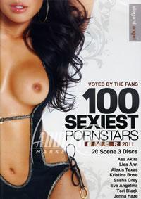 100 Sexiest Pornstars Ever 2011 {3 Disc Set}